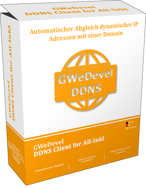 GWeDevel DDNS Client for All-Inkl