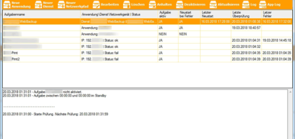 GWeDevel Application Monitor Client