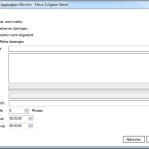 GWeDevel Application Monitor Client Dienst