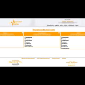 GWeDevel Application Monitor Webserver Geräte