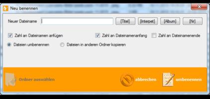 GWeDevel FileRenIster Dateien neu benennen