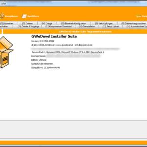 GWeDevel Installer Suite – Step 15