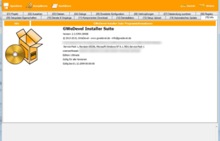 GWeDevel Installer Suite – Step 15