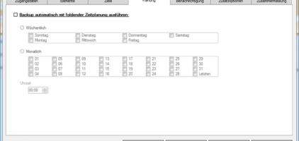 GWeDevel WebBackup Job Einrichten – Automatische Sicherung festlegen