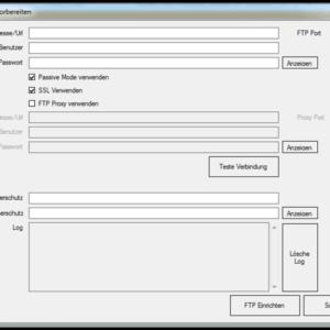 GWeDevel WebBackup Job Einrichten – Ordnerschutz