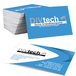 Visitenkarten DIVtech