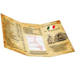 Speisekarten Pizzeria La Bruschetta