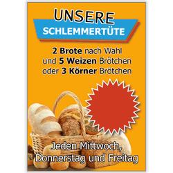Plakat SchlemmerBack Schlemmertüte